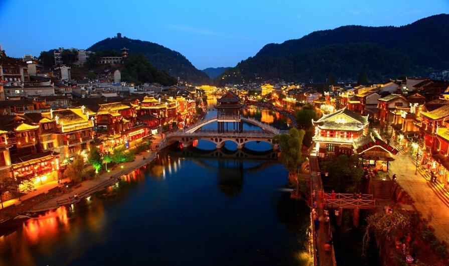 壁纸 风景 古镇 建筑 旅游 山水 摄影 桌面 895_530